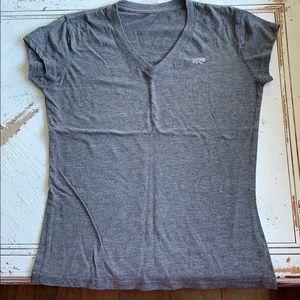 Grey athletic T shirt